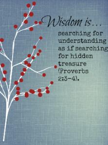 Proverbs 2:3-4