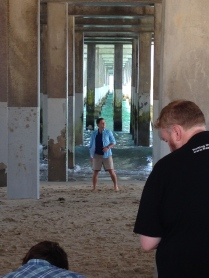 We stumbled upon this music video shoot- Yes, that's Scotty McCreery!
