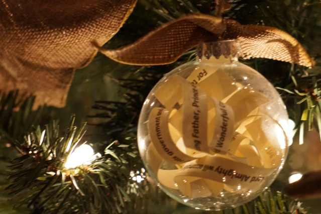 This glass ornament encasing the Isaiah 9:6 prophecy of the coming Messiah represents our call to reveal the glorious truth within us - the eternal kingdom of God!