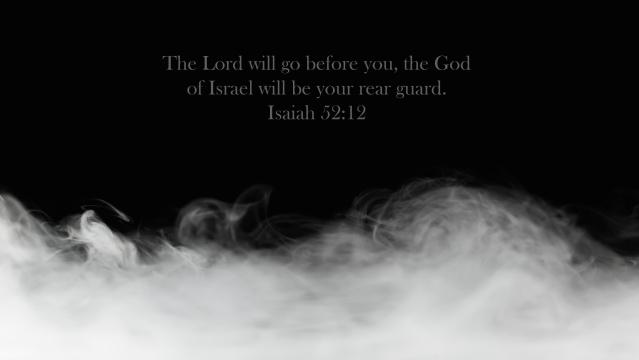 Isaiah 52:12