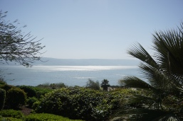 View of Galilee from Mt. of Beatitudes